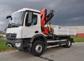 Afgeleverd: Mercedes Arocs met containersysteem en Fassi F110B.0.23